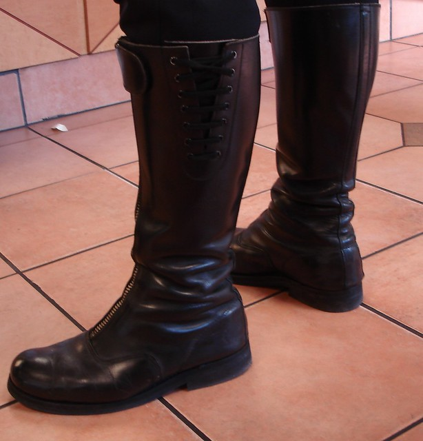 Motorcycle police boots flickr photo sharing Police motor boots