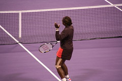 Backhand volley #6