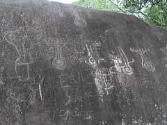 Petroglyphs; Caldera, Panamá