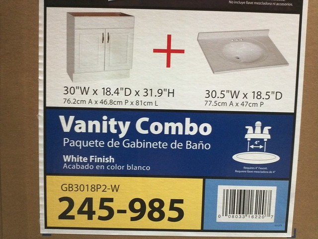 Home Depot Vanity Dimensions