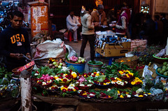 Flower Seller - Old Delhi