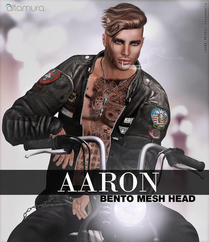 Altamura Aaron BENTO Mesh Head - New Release - SecondLifeHub.com
