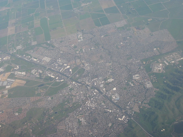 Aerial view of vacaville california flickr photo sharing for Vacaville weather