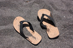 shoe(0.0), number(0.0), limb(0.0), leg(0.0), human body(0.0), footwear(1.0), sandal(1.0), flip-flops(1.0),