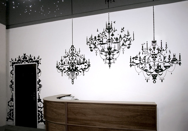 Chandeliers Mural Flickr Photo Sharing
