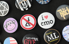 pin-back button, font, badge,