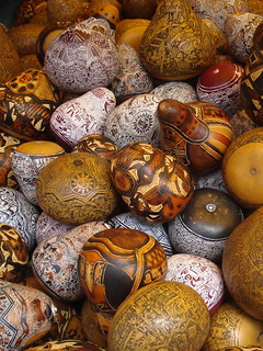 Mates Burilados / Carved Gourds