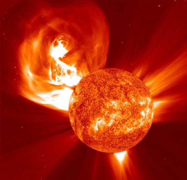 Solar Coronal Mass Ejection (2002)