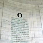 Washington DC - West Potomac Park: Thomas Jefferson Memorial - Inscriptions