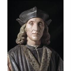 Henry VII, King of England, his son, Prince Arthur, and his kin