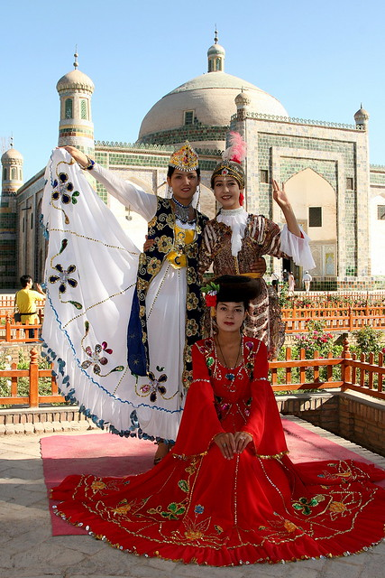 china - the uyghur people of xinjiang