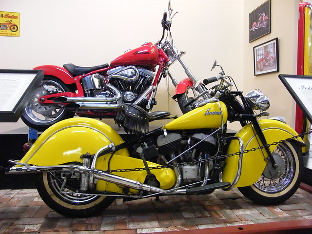2004 indian fat tire 210 scout amp 1947 indian chief flickr photo