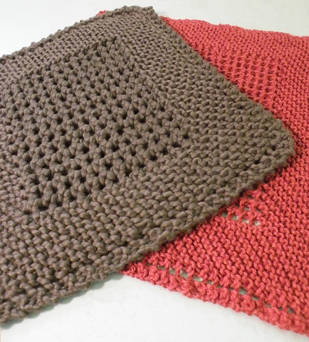 Knitting Dishcloths Easy : Knitting patterns dish cloths free
