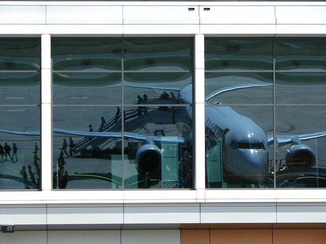 Reflection of a plane