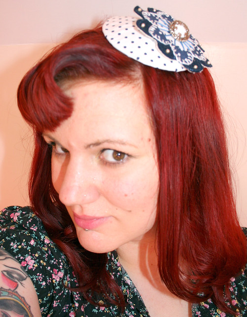 rockabilly sailor girl glamour puss and is sure to be a head turner