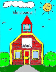 Free Clip Art for Teachers – Welcome – Stushie Art