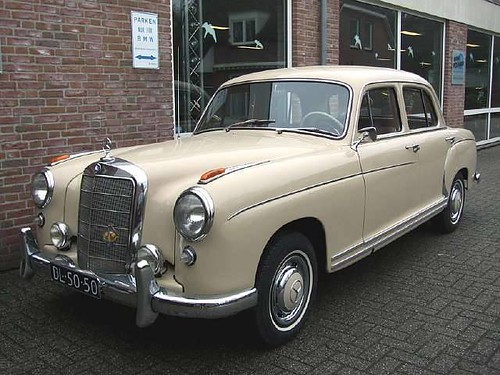Image gallery 1958 mercedes for Mercedes benz 180d for sale