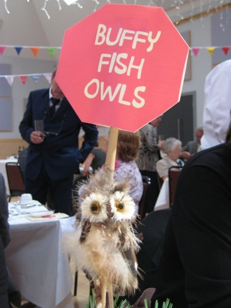 Buffy Fish Owl Table