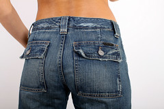 Sisley Jeans for Sale/ View from the back