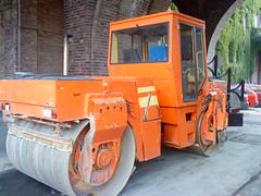 asphalt, vehicle, transport, road roller, compactor, construction equipment, land vehicle,