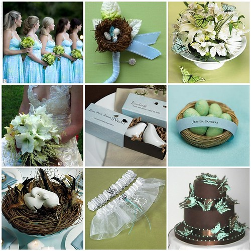 Wedding Decorations Blue And Brown: Wedding cakes pictures brown ...