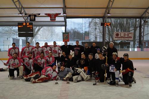 RTU TDA «Vektors» hokeja draudzības duelī uzvar LU TDA «Dancis»