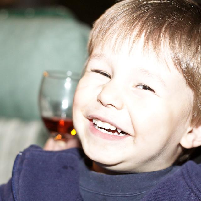 Mon fils, le bien heureux...