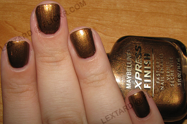 Maybelline Express Finish - Blackened Bronze