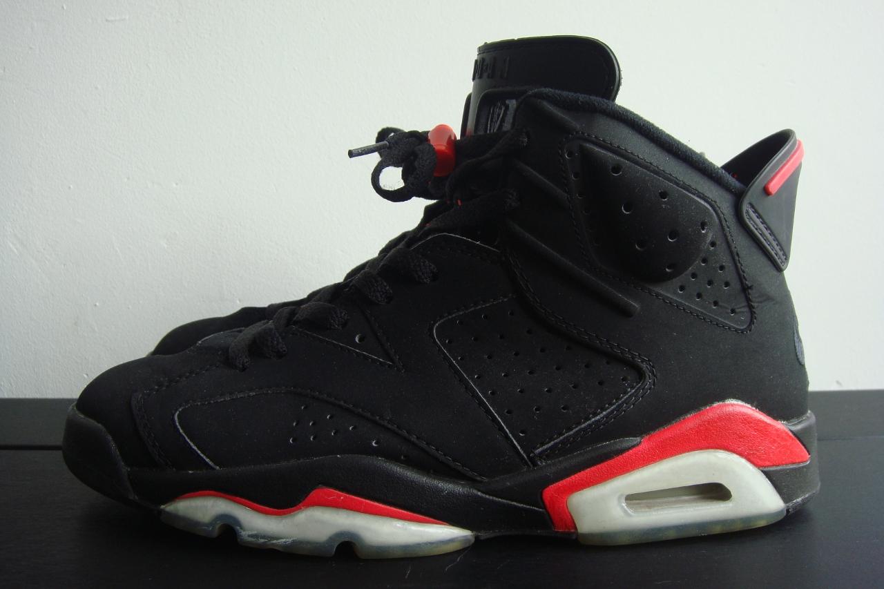 Nike air jordan VI retro Infrared - a photo on Flickriver
