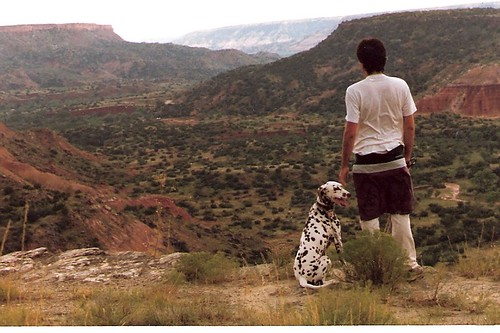 Looking at Palo Duro Canyon (Texas, 1987)