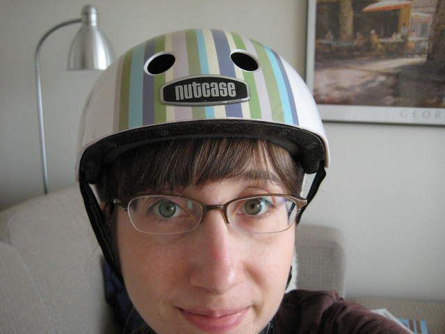 goofyface has new helmet