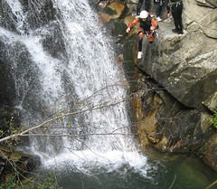 waterfall, adventure, sports, recreation, outdoor recreation, extreme sport, canyoning,