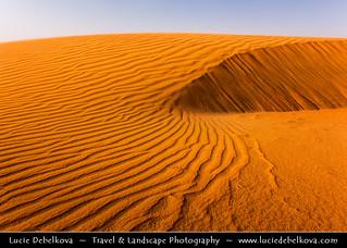 Kuwait -  Ripples of Time in Kuwaiti Desert