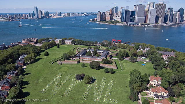 SLEM exhibit at Governors Island