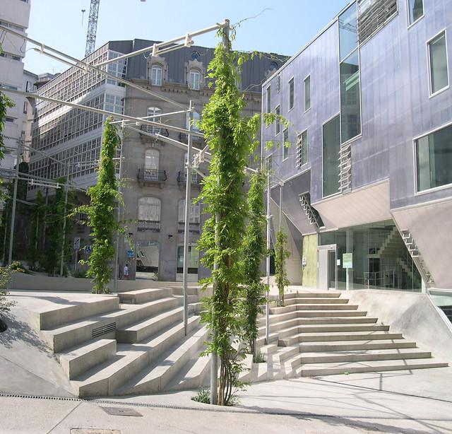 Colegio oficial de arquitectos de vigo 12 flickr photo - Colegio de arquitectos cadiz ...