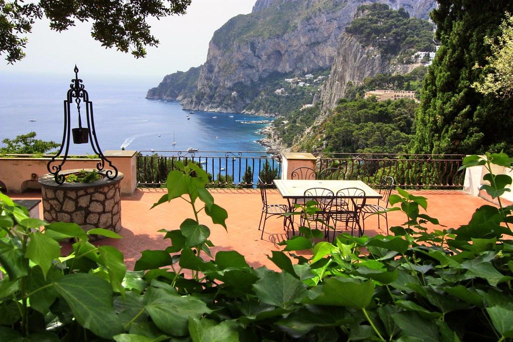 Scenery, Capri island