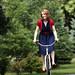 Biking in Heels by Ready Redhead