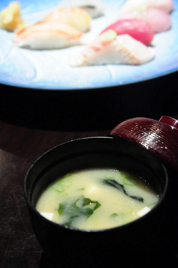 石山日本料理-握壽司定食