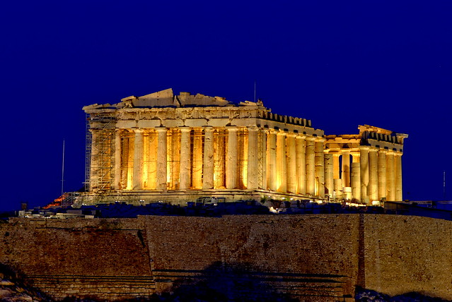 Parthenon by CC user 72906133@N00 on Flickr