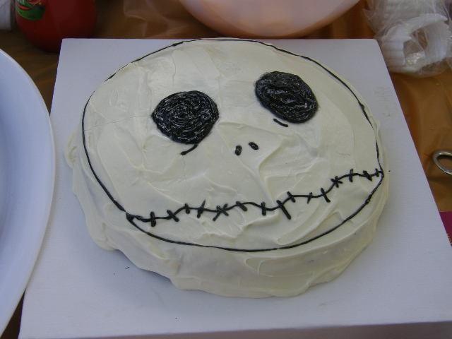 Jack Skellington Birthday Cake