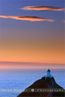 Lighthouse Nugget Point - New Zealand