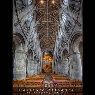 Hereford Cathedral HDR Vertorama