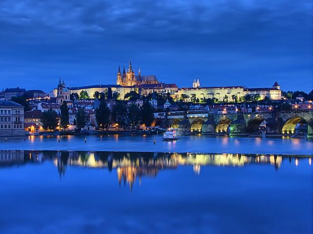 Prague Castle Blue Hour