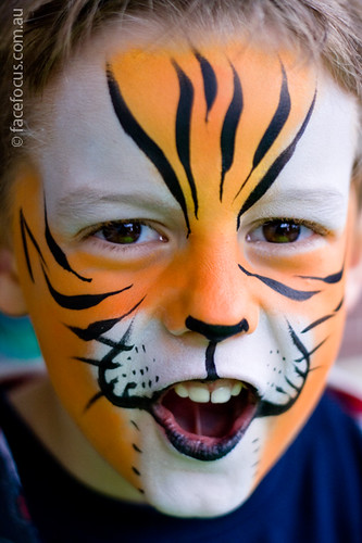 tiger face painting flickr photo sharing. Black Bedroom Furniture Sets. Home Design Ideas