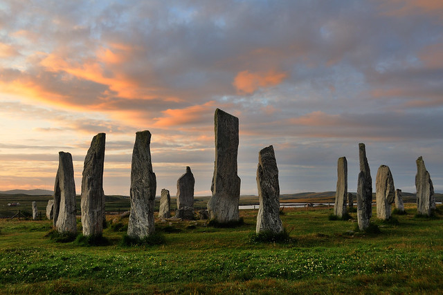 Callanish stone circle at dawn, Isle of Lewis, Scotland