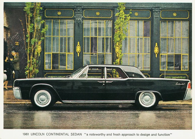 1961 lincoln continental sedan flickr photo sharing. Black Bedroom Furniture Sets. Home Design Ideas