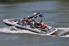 f1 powerboat racing(0.0), watercraft rowing(0.0), inflatable boat(0.0), rigid-hulled inflatable boat(0.0), vehicle(1.0), skiff(1.0), powerboating(1.0), boating(1.0), motorboat(1.0), watercraft(1.0), boat(1.0),