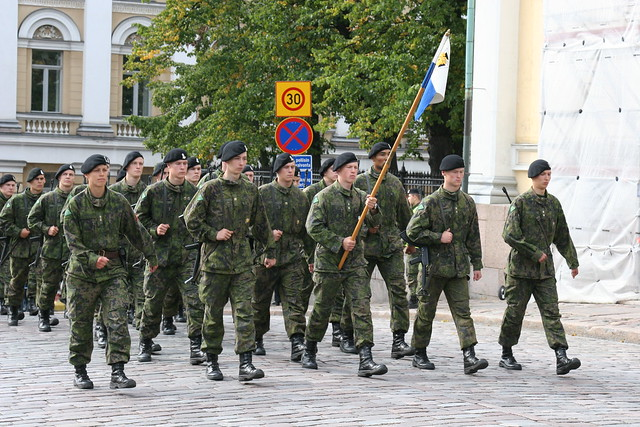 Military service is not popular among young Finns