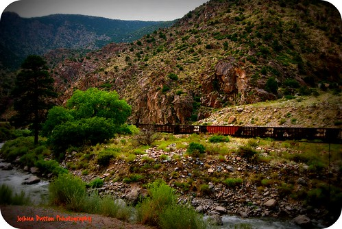 road railroad mountain tree train river colorado different rail strangely dutton canoncity strangelydifferent joshuadutton