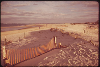 Crane's Beach, a Federally-Protected Dune Preserve between Essex and Ipswich 02/1973